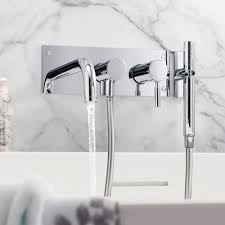 roca thesis wall mounted waterfall bath shower mixer tap kit thesis wall mounted waterfall bath shower mixer tap kit