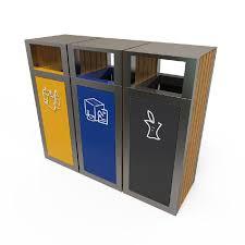 poubelle de cuisine tri s駘ectif 3 bacs poubelle exterieur tri selectif cb78 montrealeast