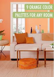 happy rooms white trim orange and be bold