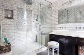 modern subway tile bathroom designs with nifty subway tiles in