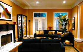 cheerful black and gold living room decor home designing with