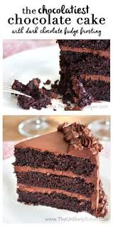 chocolate cake with coconut cream filling and marshmallow
