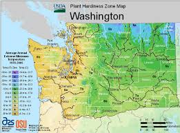 usda hardiness map washington oregon state univ landscape plants