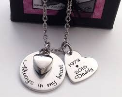 memorial necklace for ashes ashes necklace etsy
