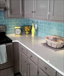 kitchen gray glass tile black and white kitchen backsplash