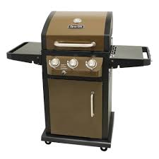 dyna glo dgb390snp d smart space living 3 burner lp gas grill
