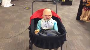 lil skelly bones spirit halloween possessed baby demo shopping at spirit halloween youtube