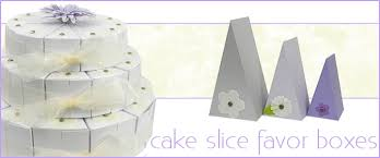 cake slice favor boxes wedge shaped gift boxes bayley s boxes