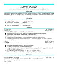 Sample Resumes For Retail by Unforgettable Part Time Lot Associates Resume Examples To Stand