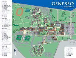 New Paltz Campus Map Image Gallery Suny Map