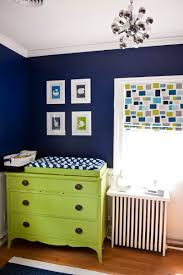 Navy And Green Nursery Decor Cathy S Navy Green Nursery Room Apartment Therapy