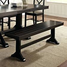 Teak Wood Dining Tables Walker Edison Antique Black Distressed Wood Dining Bench Outdoor