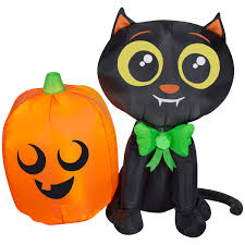 Hello Kitty Halloween Decorations by Halloween Inflatables Walmart Com