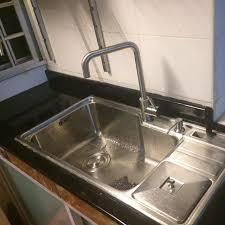 Kitchen Sink Holder by Single Bowl Kitchen Sink With Bin Knife Holder Soap Dispenser