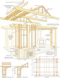 Patio Cover Plans Diy by Build A Pergola Canadian Home Workshop Building Patio Roof Plans