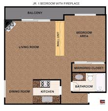Parkview Floor Plan Luxury Studio 1 U0026 2 Bedroom Apartments In Lake Balboa Ca