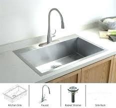 smart divide stainless steel sink kohler stainless steel kitchen sinks stainless steel kitchen sink