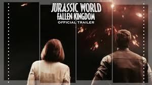 jurassic world fallen kingdom official trailer 2018 fanmade