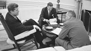 president john f kennedy in oval office discussing america u0027s