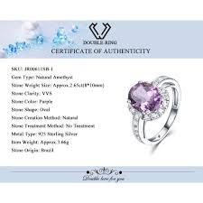 natural gem rings images Natural amethyst engagement ring buzz shop jpg
