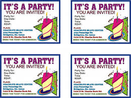 print birthday invitation cards images invitation design ideas