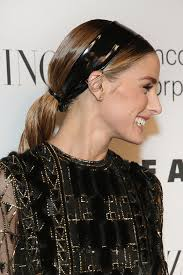 olivia palermo u0027s braid ponytail for holiday parties pret a
