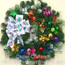 24 in blue christmas real live fraser fir christmas wreath