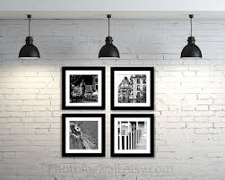 wall decor photography paris photography black and white