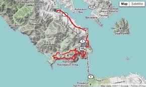 Marin Map The Ultimate Sunday Bike Ride The Marin Headlands Loop 7x7 Bay Area