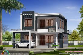 Modern Home Design Bedroom by 2076 Sq Ft 4 Bedroom Modern Home Design Kerala Home Design And