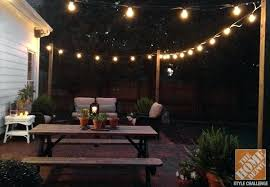post to hang string lights string lights post commercial outdoor patio pier ewakurek com