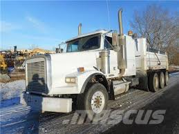 freightliner dump truck used freightliner sleeper tri drive dump truck dump trucks year
