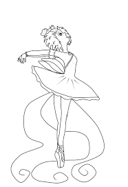 ballet princess coloring pages coloring pages