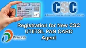 pan card utiitsl pan card registration for new csc step by step 2017 youtube