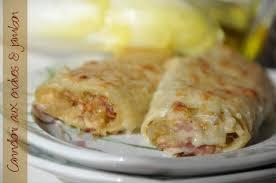 cuisine recettes faciles cannelloni aux endives et jambon recette facile la cuisine de