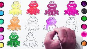 crazy frog coloring page learning color with crazy frog coloring pages for learning color
