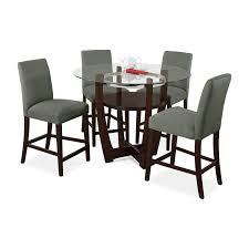 shop 5 piece dining room sets value city furniture and mattresses