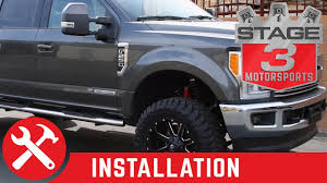 Ford Raptor Leveling Kit - 2017 f250 u0026 f350 readylift 2 5 inch front leveling kit install