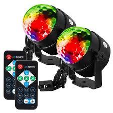led disco ball light 2pcs led disco ball light with remote control portable mini rgb