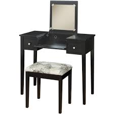 furniture makeup table walmart vanity set with lighted mirror