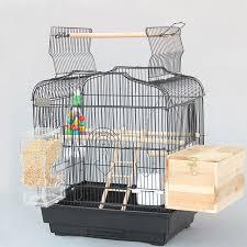 gabbie per grande metallo gabbie per uccelli di ferro nero bianco