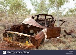 rusty car abandoned rusty car outback australia stock photo royalty free