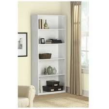 Mainstays 3 Shelf Bookcase White by Amazon Com 5 Shelf Wood Bookcase White Kitchen U0026 Dining
