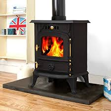Wood Burning Fireplace by Lincsfire Harmston Ja013s 5 5kw Multifuel Stove Clean Burn Wood