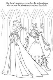 disney princess coloring pages frozen elsa let it go kleurplaten
