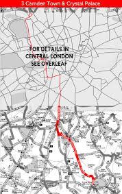 London Bus Map London Bus Route 3