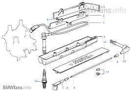 ignition wire spark plug bmw 3 u0027 e36 318i m40 europe