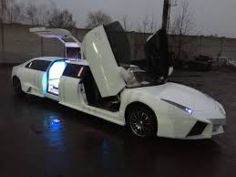 limousine lamborghini inside lambo replica turned limousine is the most insane thing you will