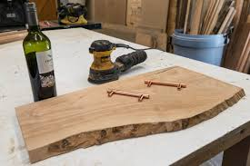 diy wine stained live edge cutting board album on imgur