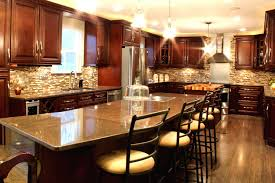 chocolate kitchen cabinets interior design ideas luxury on